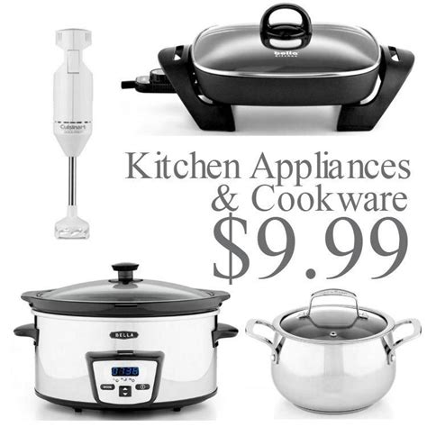 Cookware And Small Kitchen Sale With Appliances $999 Each