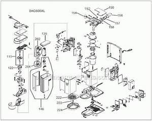 Keurig Parts Diagram Schematic