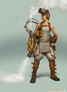 Star Wars Steampunk Character Illustrations - MightyMega
