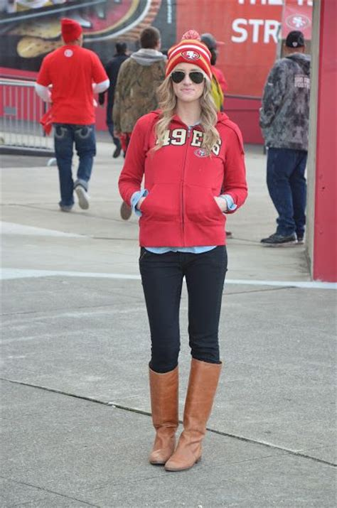 Niners game outfit | SF Niners | Pinterest