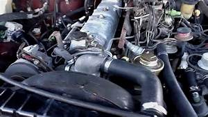 1983 Fj60 Landcruiser 2f Engine  First Start After Many Parts Replaced