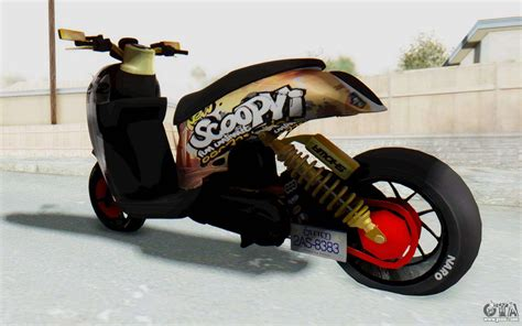 Scoopyi Modified honda scoopyi modified for gta san andreas
