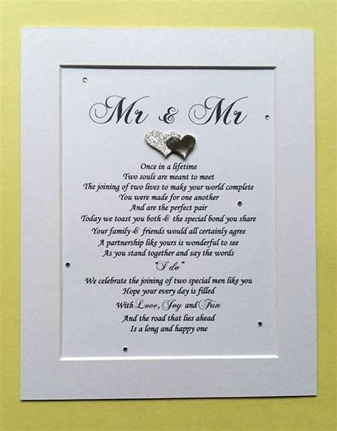 gay couples wedding gifts ideas  pinterest