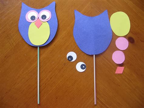 owl craft recipes  reading