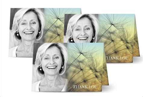 Choose from various fold, shape or cardstock options. 26+ Funeral Thank You Cards - PSD, AI, EPS | Free & Premium Templates