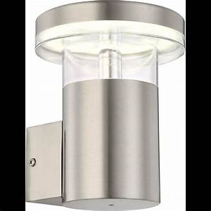 Led Lampen Für Draußen : led wandlampe in edelstahl f r draussen outdoor ~ Frokenaadalensverden.com Haus und Dekorationen