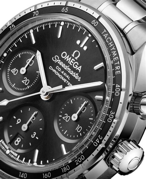 Omega - Speedmaster 38 Co-Axial Chronograph Black | Time ...