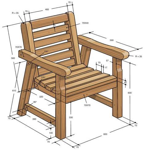 costruire una sedia arredo giardino fai da te arredo giardino costruire una