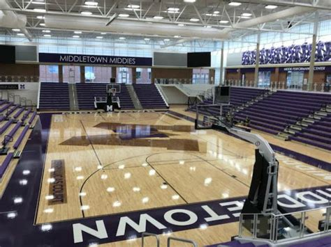 middletown basketball gym arena ohio prepares historic wcpo weekend wade miller sports cincinnati