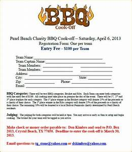 Chili Cook Off Certificate Template Pearl Beach Bbq Charity Cook Off Crystal Beach Local