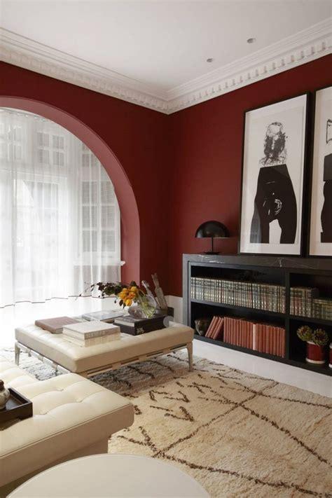 canape peu profond peinture murale dans le salon et idées de déco en 25 photos