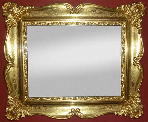 bilderrahmen mit spiegelrahmen spiegel mit spiegelrahmen edler wandspiegel mit