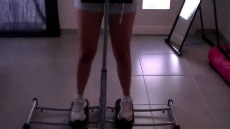 sport interieur des cuisses fitness routine 224 la maison affiner l int 233 rieur des cuisses avec le magic leg