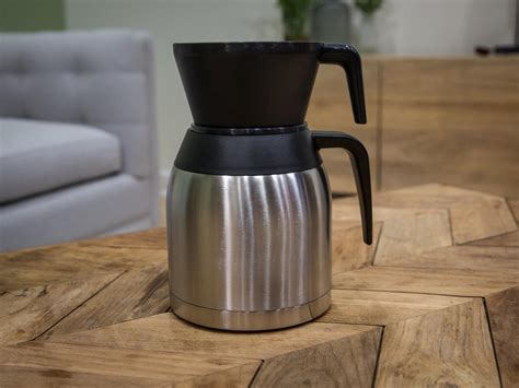 Don't break your old glass carafe! Bonavita 8 Cup Coffee Maker with Stainless Steel Lined Thermal Carafe - BV1900TS