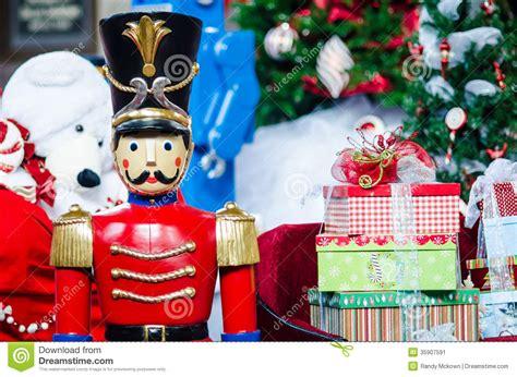 christmas toys stock image image  tree presents santa