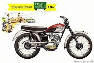Triumph 1961 T20s Cub 200cc