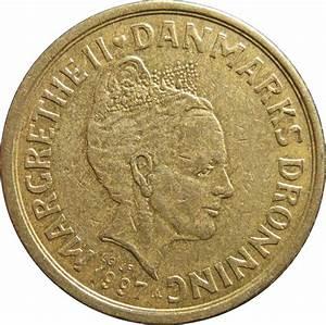 10 Kroner - Margrethe II (3rd portrait) - Denmark – Numista