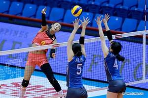 Japan beats China 3-0 in 2017 Asian Women's Volleyball ...