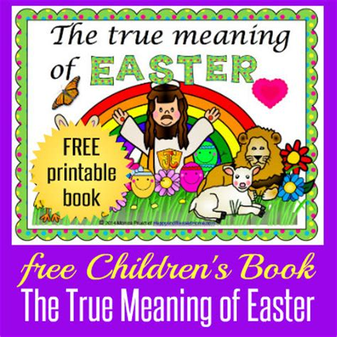 free easter book for children happy and blessed home 109 | The True Meaning of Easter Facebook HappyandBlessedHome.com