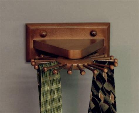 Various Wall Mounted Tie Racks   HomesFeed