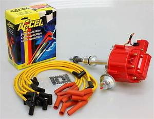 Ford 289 302 Hei Distributor  U0026 Accel Wires 6502