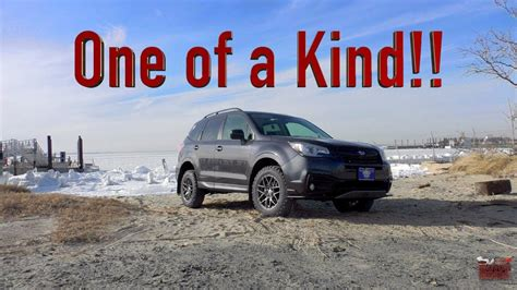 custom lifted  subaru forester review youtube