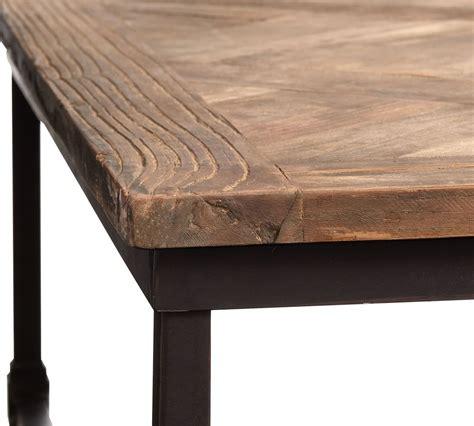 Reclaimed wood jett coffee table. Parquet Reclaimed Wood Rectangular Coffee Table   Pottery Barn CA