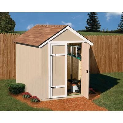 Home Depot Sheds Sale by Handy Home Products Sherwood 6 Ft X 8 Ft Garden Shed