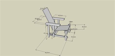 la chaise de rietveld pour le 11 novembre et le 16 novembre la chaise de rietveld archlmd 2010