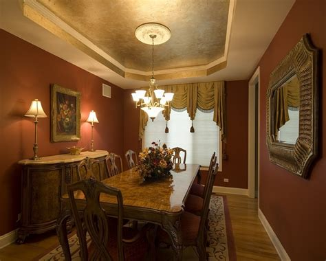 Traditional Dining Room Ideas by Decorative Gold Color Consoles Beautiful Traditional