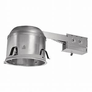 Halo H27 6 In  Aluminum Recessed Lighting Housing For