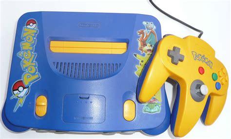 nintendo n64 console kakuna rattata