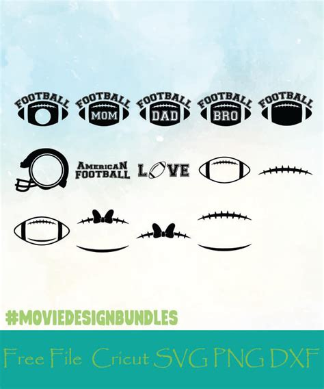 Compatible with cameo silhouette studio, cricut and other cutting machines for any crafting projects. FOOTBALL MONOGRAM FRAMES FREE DESIGNS SVG, PNG, DXF FOR ...