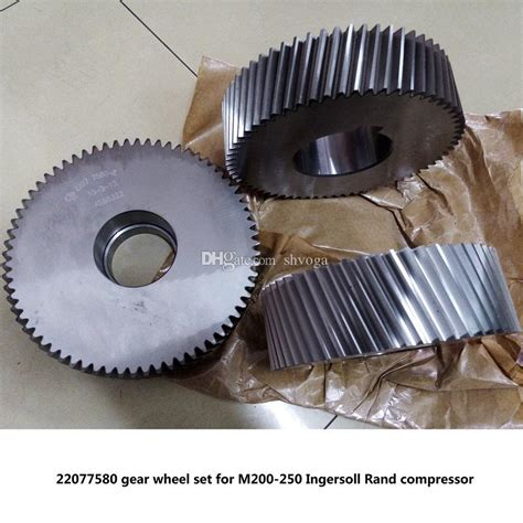original gear wheel set driven gear shaft   mm  ingersoll rand screw air