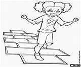 Juego Hopscotch Coloring Rayuela Gioco Campana Amarelinha Jogo Colorir Brinquedos Colorear Colorare Game Toys Oder Della Disegni Spielt Desenhos Games sketch template