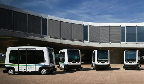 driverless bus testing coming  bay area  city