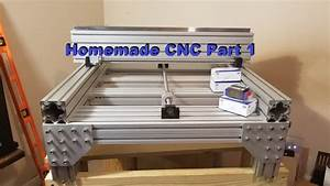 Homemade Diy Cnc Build Part 1  Building The Fame