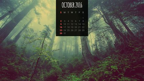 calendar wallpapers  october  desktop backgrounds