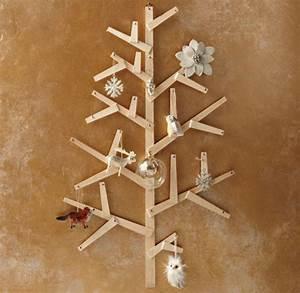 Weihnachtsbäume Aus Holz : 20 moderne weihnachtsdekorationen ~ Orissabook.com Haus und Dekorationen