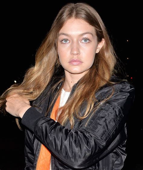 Gigi Hadid NIght Out - Nice Guy in West Hollywood 5/28/2016
