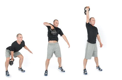 kettlebell snatch exercise stack workouts muscles week daily benefits shoulder movements turkish speed illustrated form