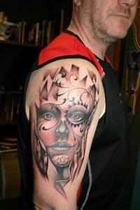 Tattoo Leben Und Tod : 49 satanischen tattoos von tod ~ Frokenaadalensverden.com Haus und Dekorationen