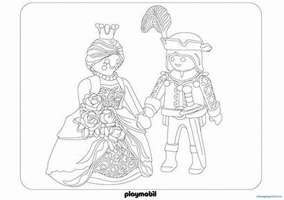 Playmobil Coloriage Coloring Pages Imprimer Police Dragon