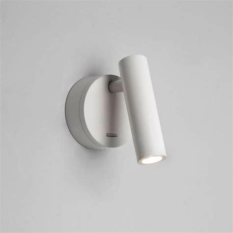 Applique Murale Led Enna Surface Blanc Avec Interrupteur