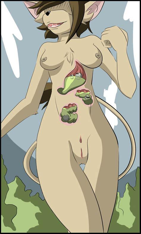 female digestion vore
