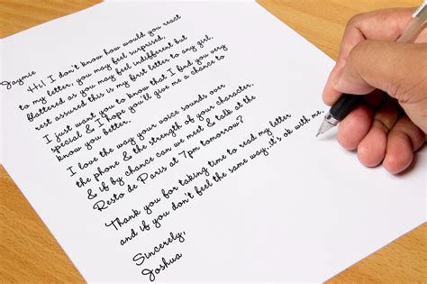 How To Tell A Girl You Like Her In A Letter