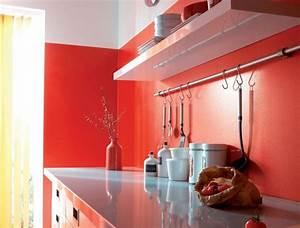 choix de peinture pour cuisine peinture cuisine avec With peinture rouge pour cuisine