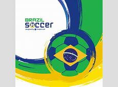 2014 brazil world football tournament vector background 02