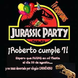 Cumpleaños temático DINOSAURIOS / JURASSIC PARTY Un dinosaurio en la maleta