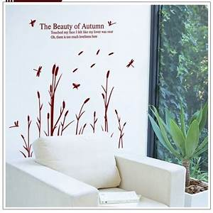 reed swing with wind wall sticker wall art decals vinyl With what kind of paint to use on kitchen cabinets for dandelion wall art stickers